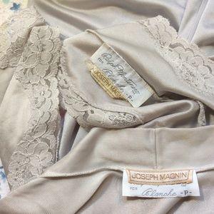 Vintage Intimates & Sleepwear - Vintage J Magnin Vintage Pale Blue Slip Set